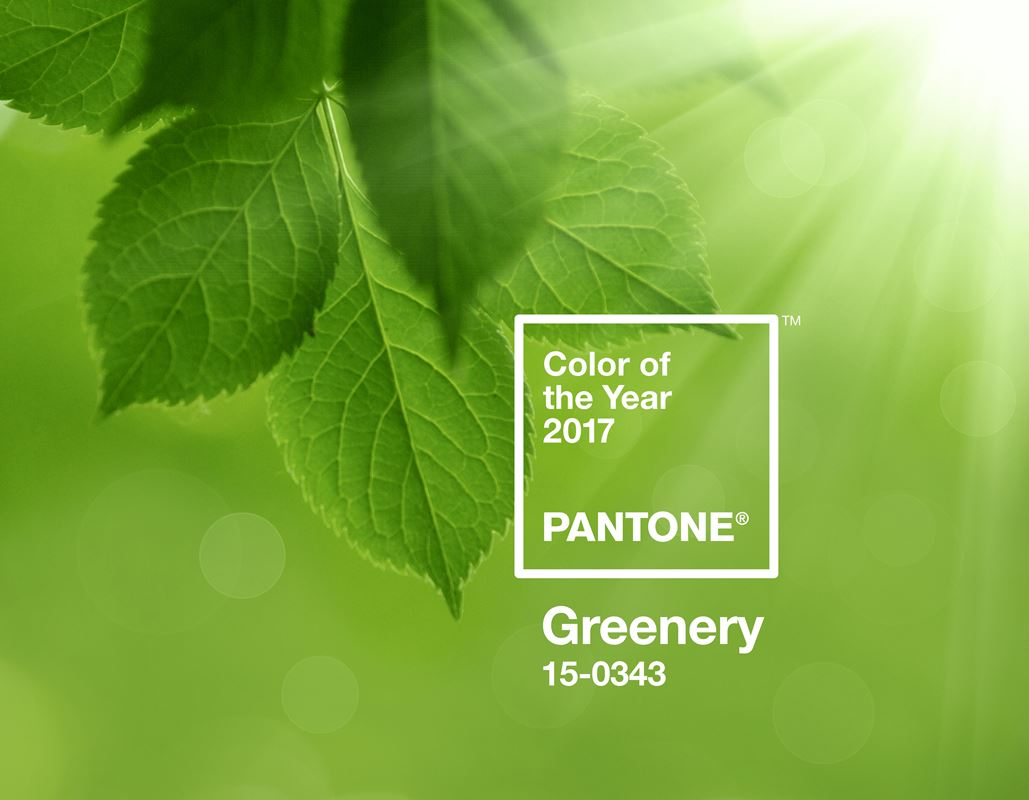 Pantone's Greenery Growing on Consumers